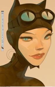 Catwoman by Otto Schmidt
