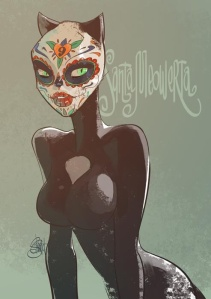 Catrina Catwoman by Otto Schmidt
