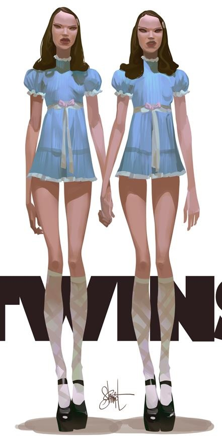The Shining Twins by Otto Schmidt