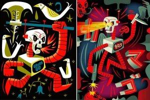 Tim Biskup -Deathbot
