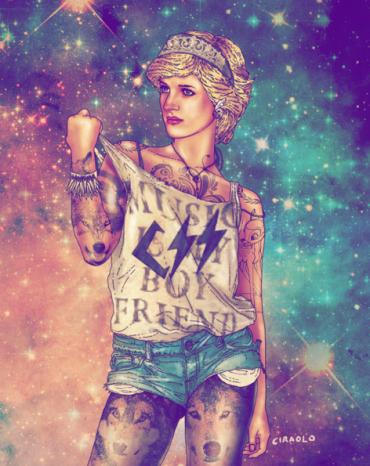 Lady-Di by Fab Ciraolo