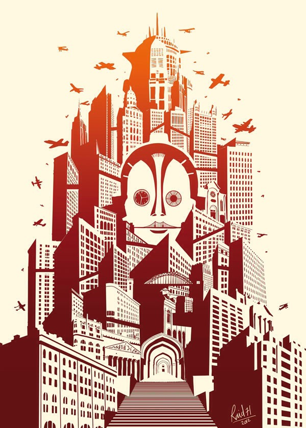 Metropolis by Raid71