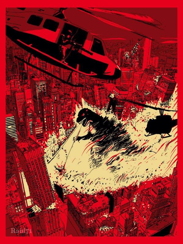Godzilla by Raid71